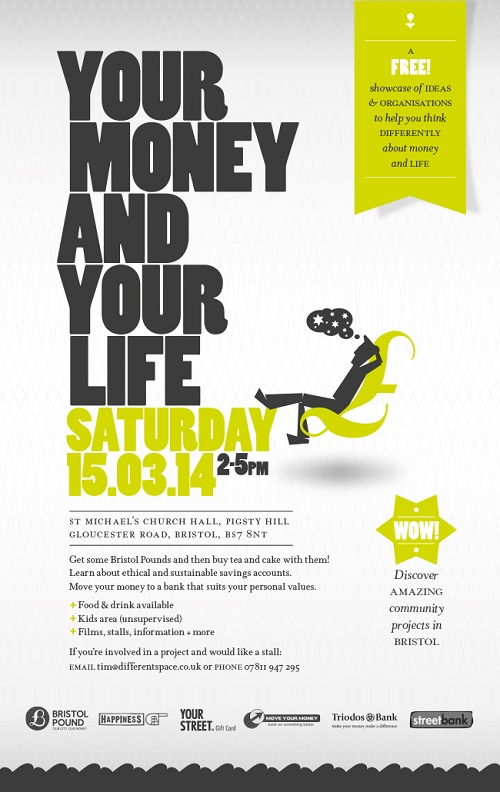 Your Money and Your Life e flyer